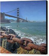 Golden Gate Bridge Canvas Print by Everet Regal