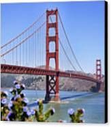 Golden Gate Canvas Print by Kelley King