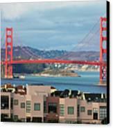 Golden Gate Canvas Print by Stickney Design