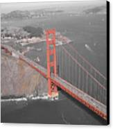 Golden Gate The Color Of The Bridge Canvas Print