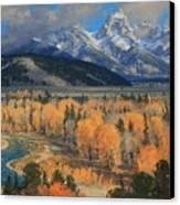 Golden September Canvas Print