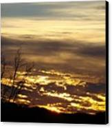 Golden Sunrise One Canvas Print