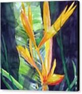 Golden Torch Canvas Print