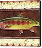 Golden Trout Lodge Canvas Print