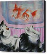 Goldfish Dream Canvas Print