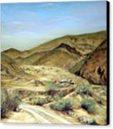 Goler Gultch California Canvas Print by Evelyne Boynton Grierson