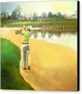 Golf In Club Fontana Austria 02 Canvas Print