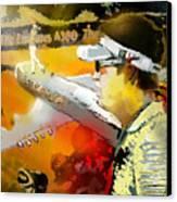 Golf In Club Fontana Austria 04 Canvas Print