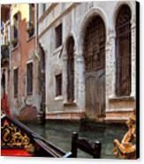 Gondola Canvas Print