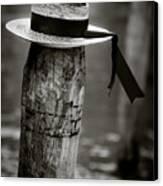 Gondolier Hat Canvas Print by Dave Bowman