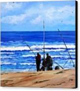 Gone Fishing 2 Canvas Print