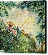 Good Fishing Canvas Print