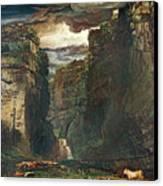 Gordale Scar Canvas Print by James Ward