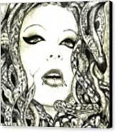 Gorgon Canvas Print by Justin Kautz