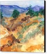 Gorman Pass 105 Degrees Canvas Print