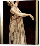 Grace Touching Light Canvas Print