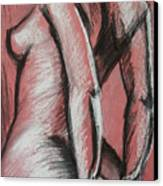 Graceful Pink - Nudes Gallery Canvas Print by Carmen Tyrrell