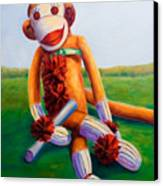Graduate Made Of Sockies Canvas Print