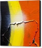 Graffiti Texture Iv Canvas Print by Ray Laskowitz - Printscapes