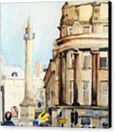 Grainger Monument. Newcastle Upon Tyne Canvas Print