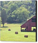 Grampa's Summer Barn Canvas Print
