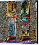Grand Central Bakery Mosaic Canvas Print