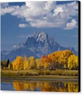 Grand Teton Xii Canvas Print