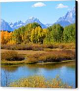 Grand Tetons 3 Canvas Print by Carrie Putz