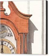 Grandfather Clock Canvas Print