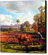 Grandfather Farm Canvas Print