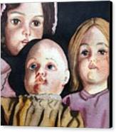 Grandma's Dolls Canvas Print