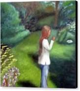 Grandmas Garden Canvas Print
