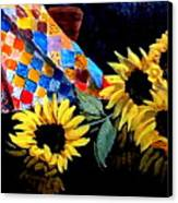 Grandmother's Quilt Canvas Print by Jean Ann Curry Hess