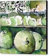 Granny Smith Apples Canvas Print