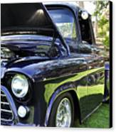Grape Fully Blown Pickup Canvas Print