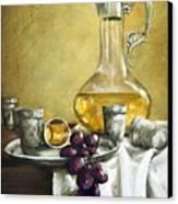 Grapes And Cristals Canvas Print