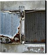 Grated Door Canvas Print by Murray Bloom