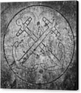 Grave Of Cadet Soady Macroom Ireland Canvas Print