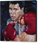 Great Ali Canvas Print