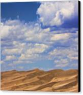Great Colorado Sand Dunes Mixed View Canvas Print