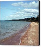 Great Lakes Beach Canvas Print