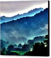 Great Smokey Mountains Canvas Print by Susanne Van Hulst