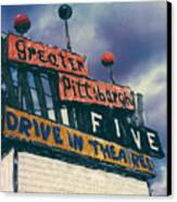 Greater Pittsburgh Five Drive-in Canvas Print