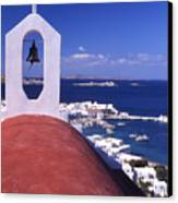 Greece. Mykonos Canvas Print