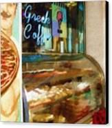 Greek Coffee Canvas Print