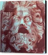 Greek Mask Canvas Print