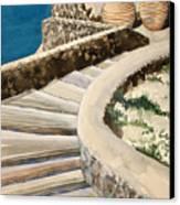 Greekscape 3 Canvas Print