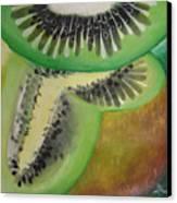 Green Ecstasy 1 Canvas Print