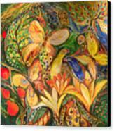 Green Emotion Canvas Print by Elena Kotliarker