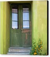 Green House Canvas Print by Gabriela Insuratelu